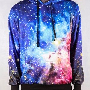 Other - 🔥NWT🔥 Galaxy All Over Printed 3D Hoodie